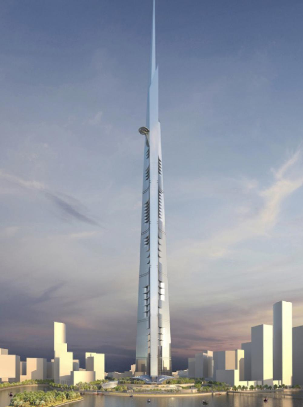 Figure 1. Jeddah Tower. Reprinted from Smith and Gills. http://smithgill.com/work/ jeddah_tower/